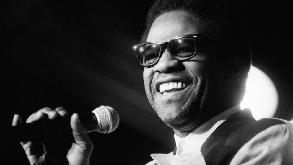 THE HAGUE, NETHERLANDS - JULY 11: Soul singer Al Green performs on July 11th 1993 at the North Sea Jazz Festival in the Hague