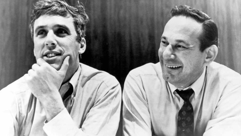 UNSPECIFIED - circa 1970  Photo of Hal DAVID and Burt BACHARACH; & Hal David  (Photo by Charlie Gillett/Redferns)