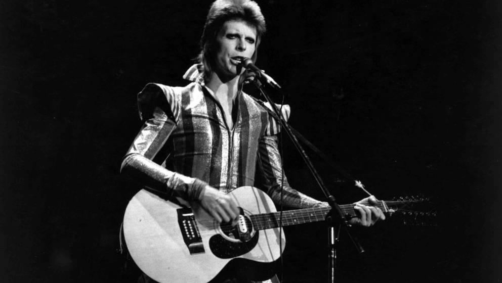 David Bowie zu Ziggy-Stardust-Zeiten