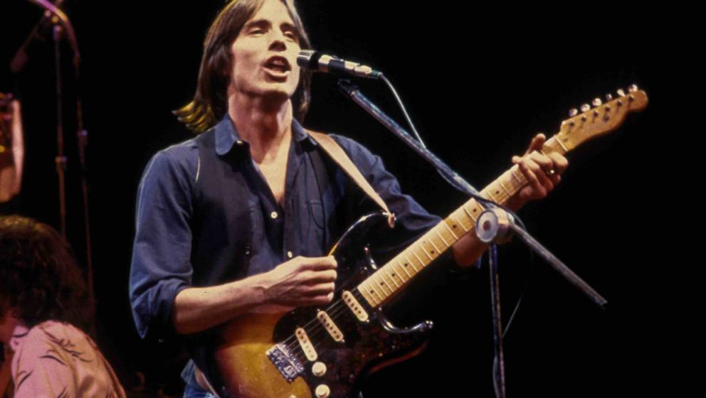NEW YORK, NY - CIRCA 1979: Jackson Browne in concert circa 1979 in New York City. (Photo by Robin Platzer/IMAGES/Getty Images