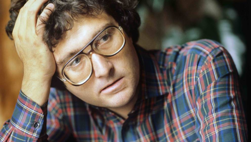 AMSTERDAM, NETHERLANDS - 1st JANUARY: A portrait of American singer-songwriter Randy Newman in Amsterdam, Netherlands, 1975.