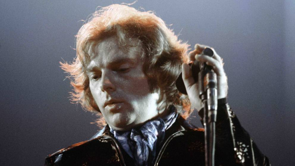 SANTA MONICA, CA - MAY 19:  Singer songwriter Van Morrison records 'It's Too Late to Stop Now' live at the Santa Monica Civic