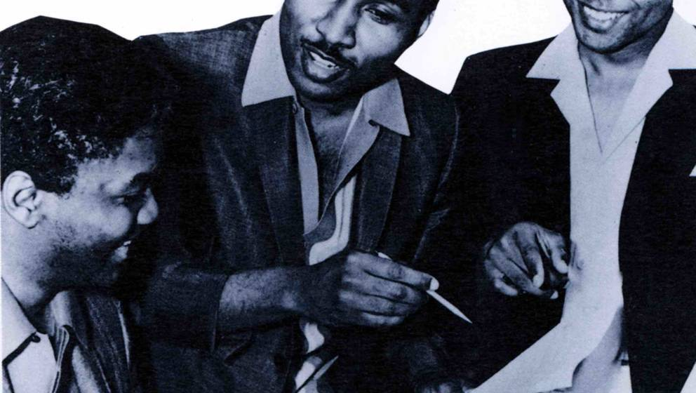 UNSPECIFIED - JANUARY 01:  (AUSTRALIA OUT) Photo of Eddie HOLLAND and Lamont DOZIER and Brian HOLLAND and HOLLAND DOZIER HOLL