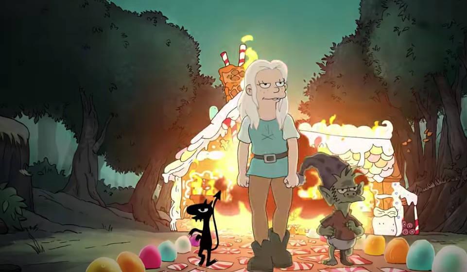 "Unvekennbar Groening: Szene aus dem Trailer zu ""Disenchantment"""