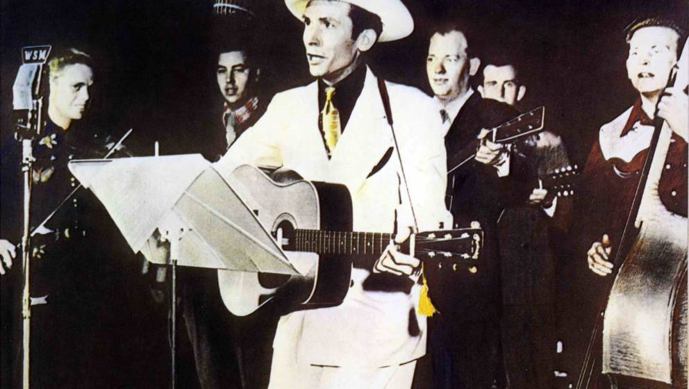 UNSPECIFIED - JANUARY 01:  (AUSTRALIA OUT) Photo of Hank WILLIAMS; Performing with the Drifting Cowboys  (Photo by GAB Archiv