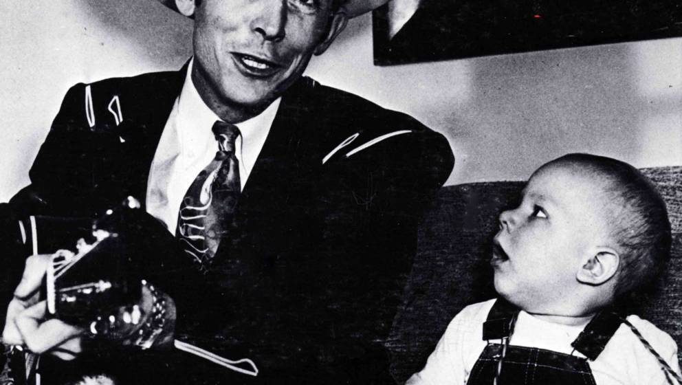 UNSPECIFIED - JANUARY 01:  (AUSTRALIA OUT) Photo of Hank WILLIAMS Jnr and Hank WILLIAMS; With son Hank Williams jr  (Photo by