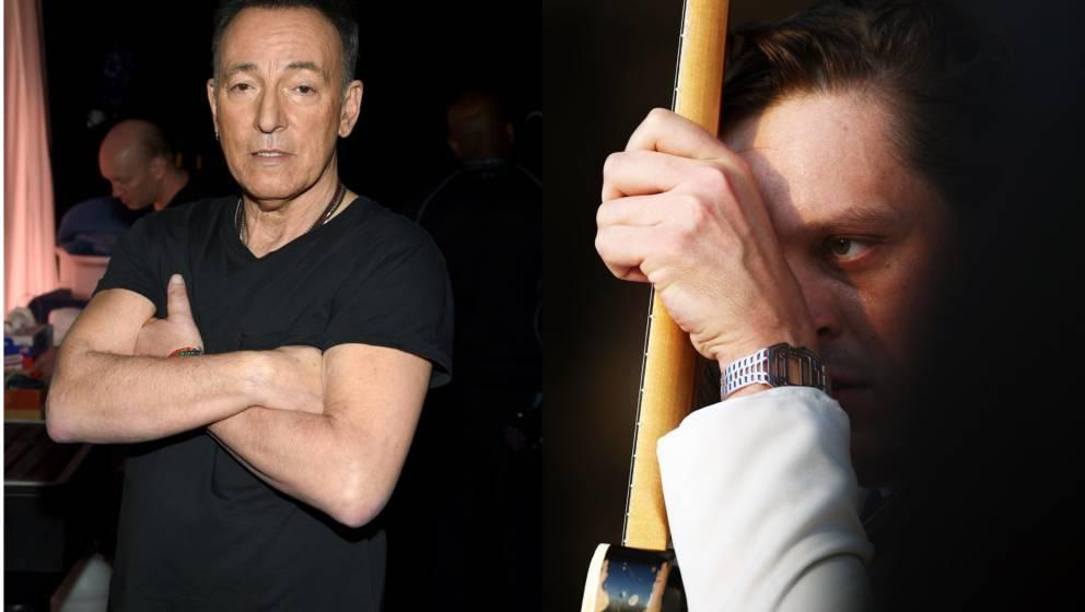 Bruce Springsteen hat Arcade Fire erzählt, wie man eine Karrieredelle überwindet