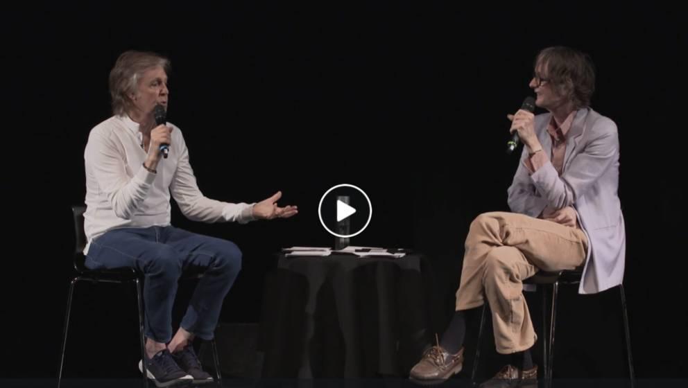 Paul McCartney im Gespräch mit Jarvis Cocker