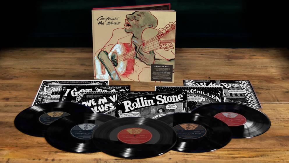 "Artwork der Special Edition von ""Confessin' The Blues"""