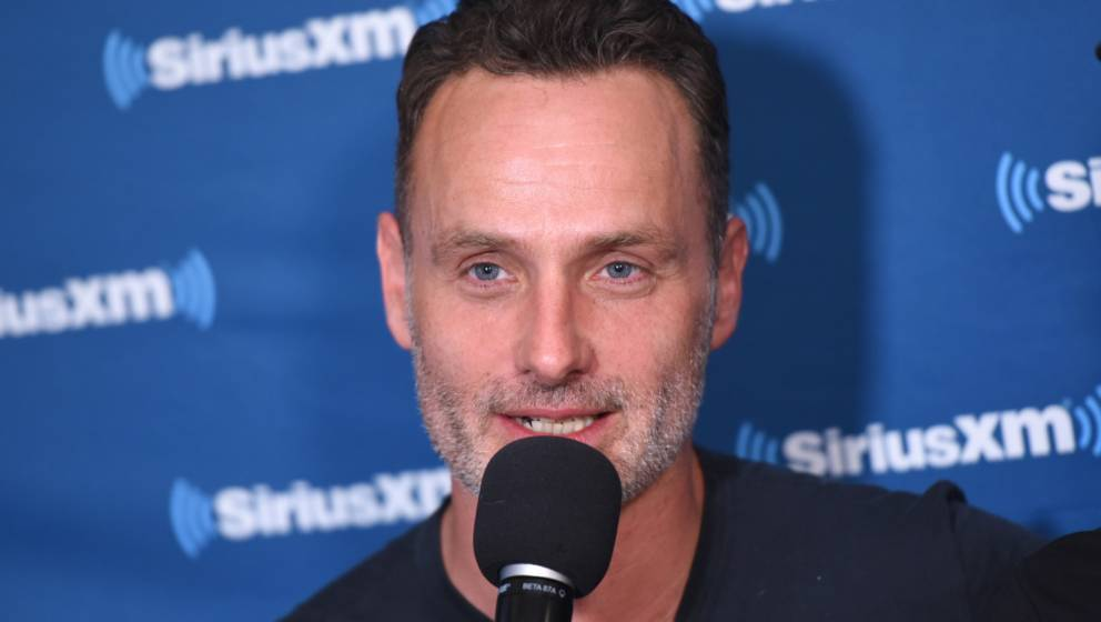 SAN DIEGO, CA - JULY 21:  Andrew Lincoln attends SiriusXM's Entertainment Weekly Radio Broadcasts Live From Comic Con in San