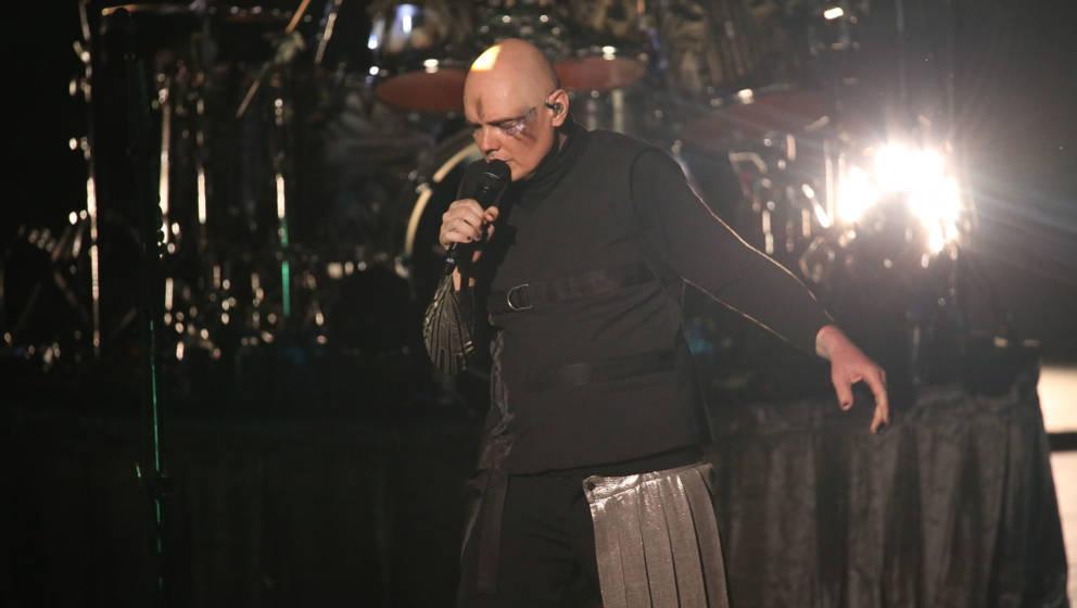Billy Corgan und die Smashing Pumpkins bei ihem Jubiläumskonzert in Homdel