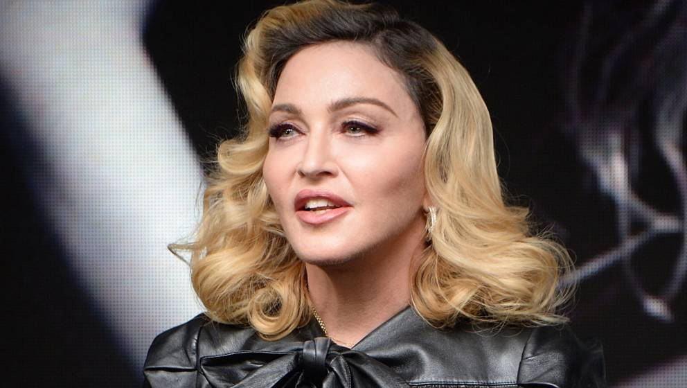 NEW YORK, NY - SEPTEMBER 26:  (Exclusive Coverage) Madonna launches MDNA SKIN collection at Ludlow House on September 26, 201