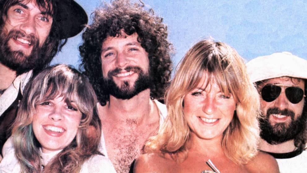 Fleetwood Mac 1975: Mick Fleetwood, Stevie Nicks, Lindsey Buckingham, Christine McVie, John McVie