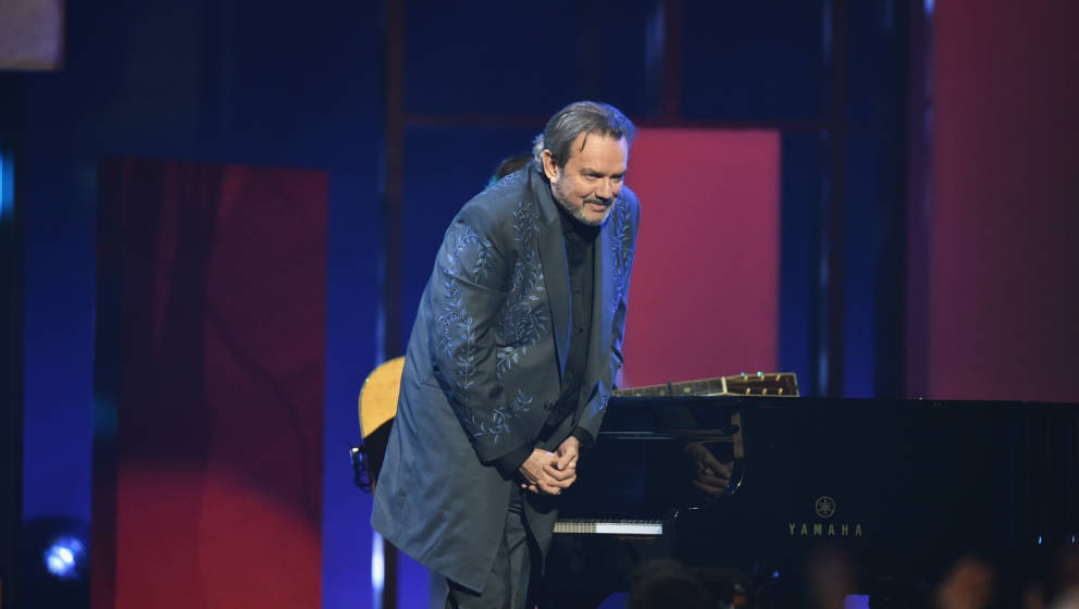 NASHVILLE, TN - NOVEMBER 08: Jimmy Webb performs onstage at the 51st annual CMA Awards at the Bridgestone Arena on November 8