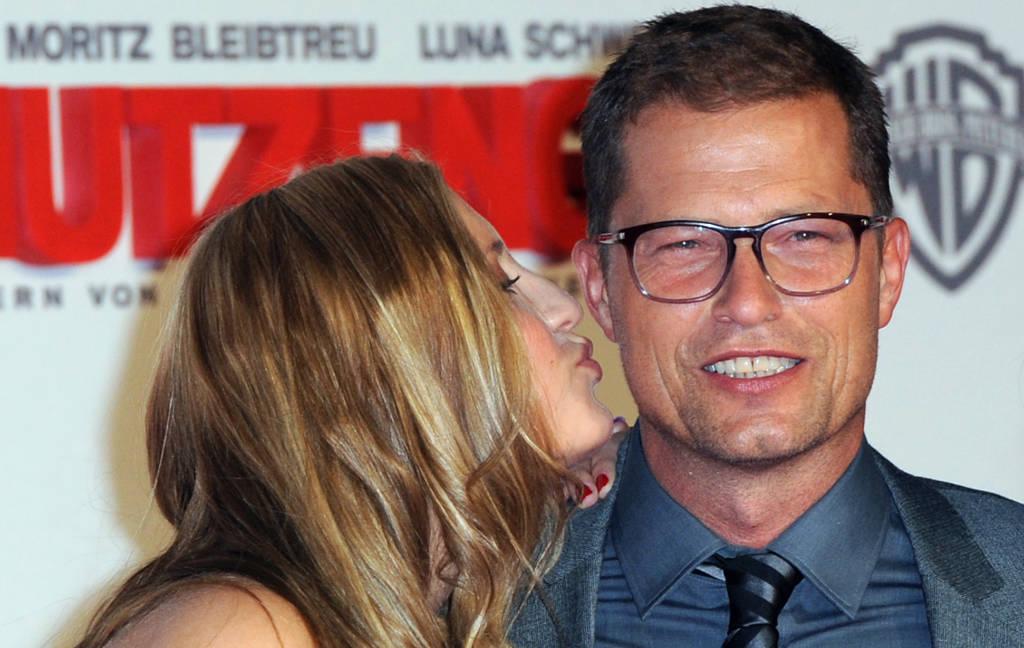 Til Schweiger Is Kissing His Daughter