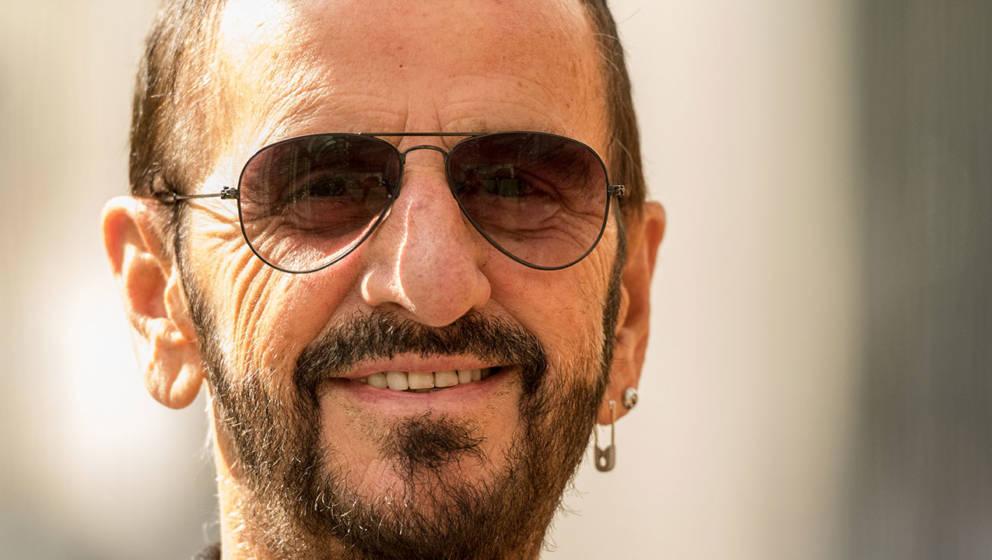 Beatle-Schlagzeuger Ringo Starr 2017.