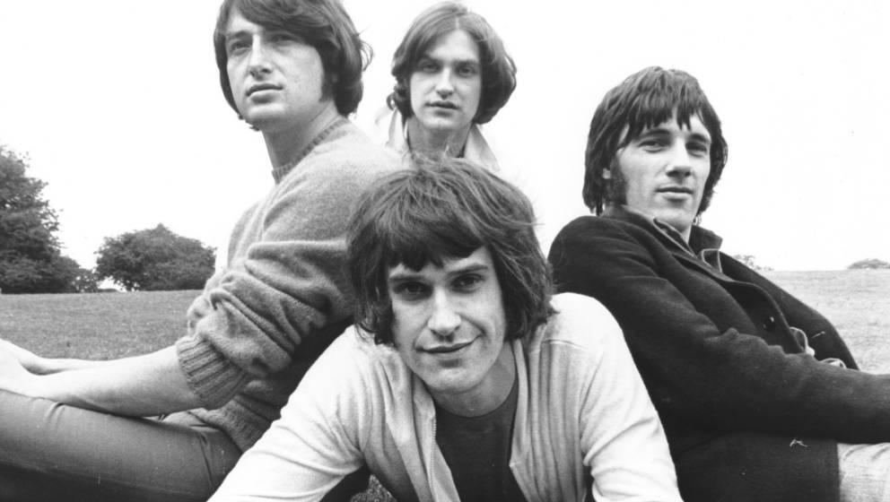 The Kinks, 1968 - Pete Quaife, Dave Davies, Ray Davies, Mick Avory  (Photo by Chris Walter/WireImage)