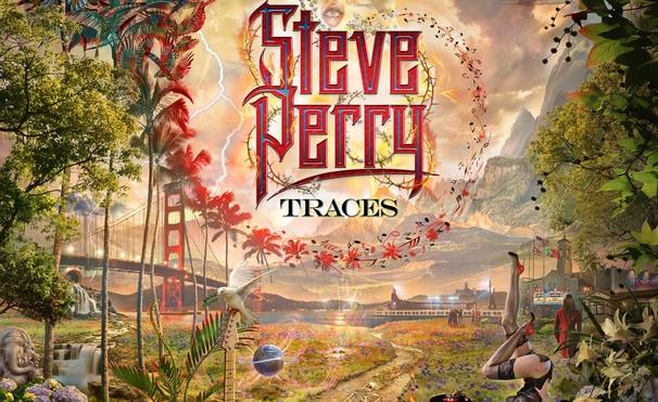 "Cover-Artwork für ""Traces"" von Steve Perry"