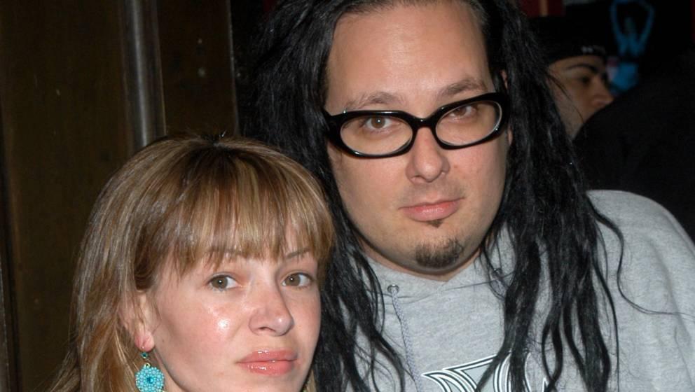 Korn-Sänger Jonathan Davis mit seiner Frau Deven