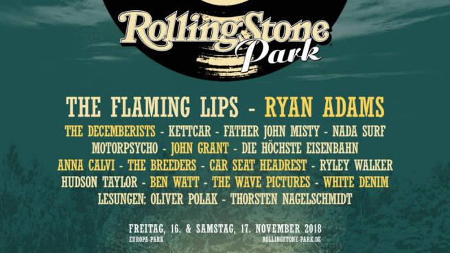 Das Line-Up für den ROLLING STONE Park