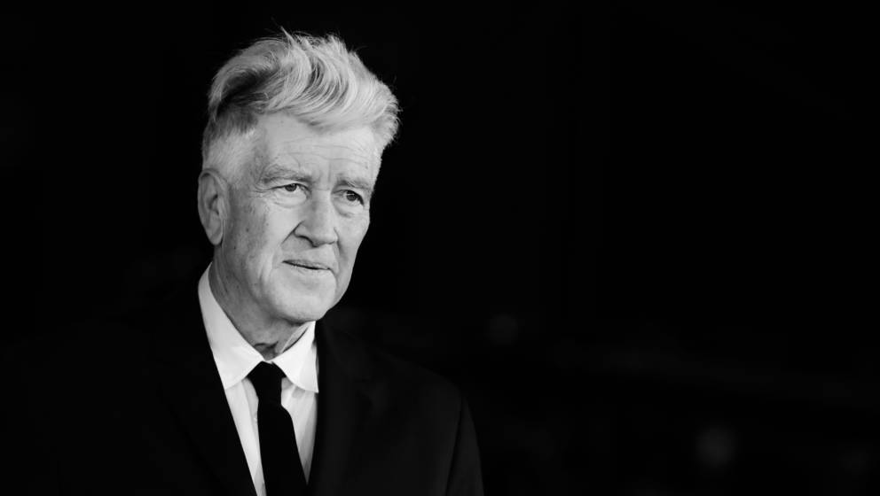 ROME, ITALY - NOVEMBER 04:  (EDITORS NOTE: This image has been converted in black and white) David Lynch walks the red carpet