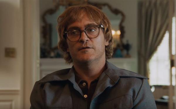"Joaquin Phoenix als Cartoonist John Callahan in einer Szene aus ""Don't Worry…"""