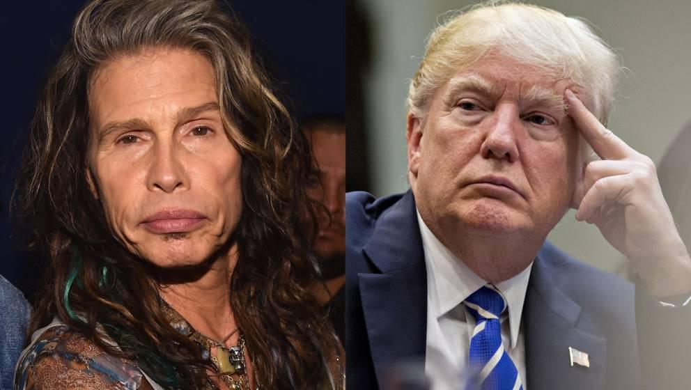 Steven Tyler ärgert sich über Donald Trump - mal wieder
