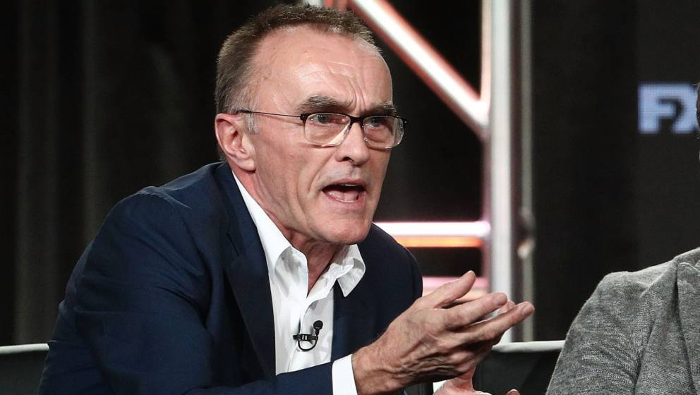 PASADENA, CA - JANUARY 05:  Executive Producer/Director Danny Boyle of the television show TRUST speaks onstage during the FO