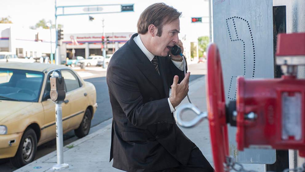 """Ab Oktober gibt es die neue Staffel """"Better Call Saul""""um Jimmy McGill alias Saul Goodman auf Netflix zu sehen."""