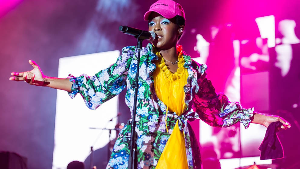 PHILADELPHIA, PA - JULY 13:  Singer, songwriter, Ms. Lauryn Hill performs during The Miseducation of Lauryn Hill 20th Anniver