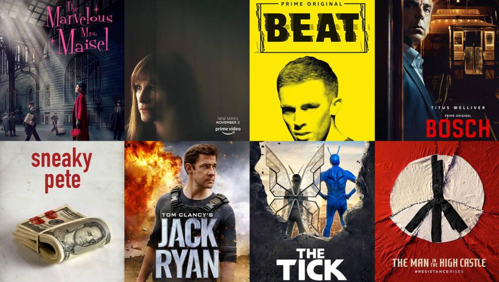Übersicht über die besten Serien auf Amazon Prime Video