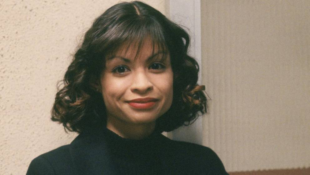ER -- 'February 5, 1995' Episode 15 -- Air Date 02/02/1995 -- Pictured: Vanessa Marquez as Nurse Wendy Goldman -- Photo by: A