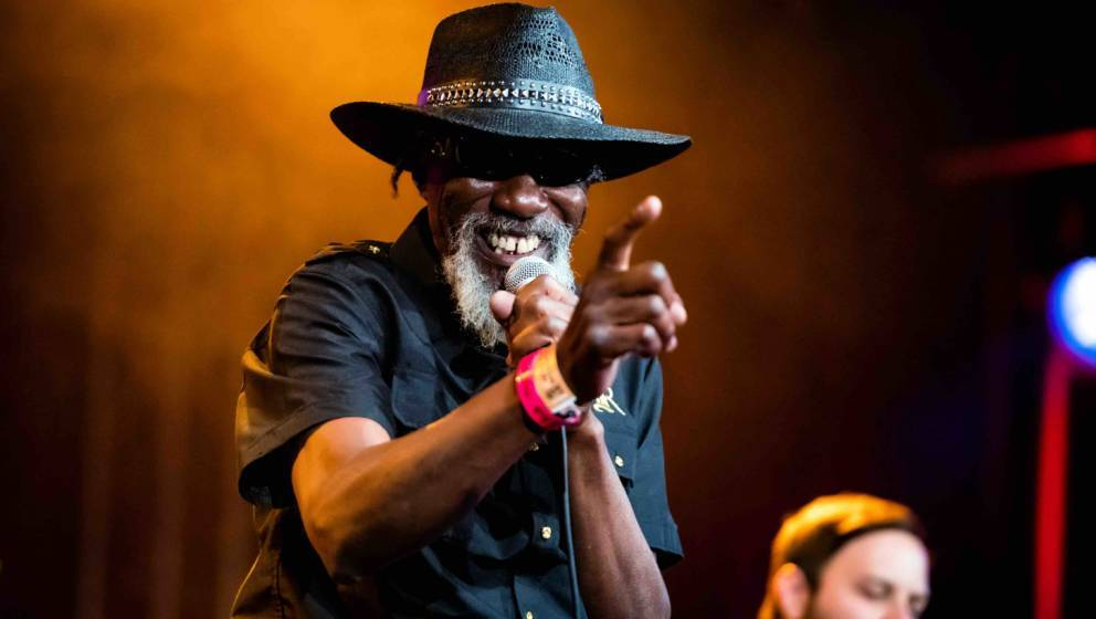 ROTTERDAM, NETHERLANDS - JULY 14: Robert Finley performs on stage at North Sea Jazz Festival at Ahoy on July 14, 2018 in Rott