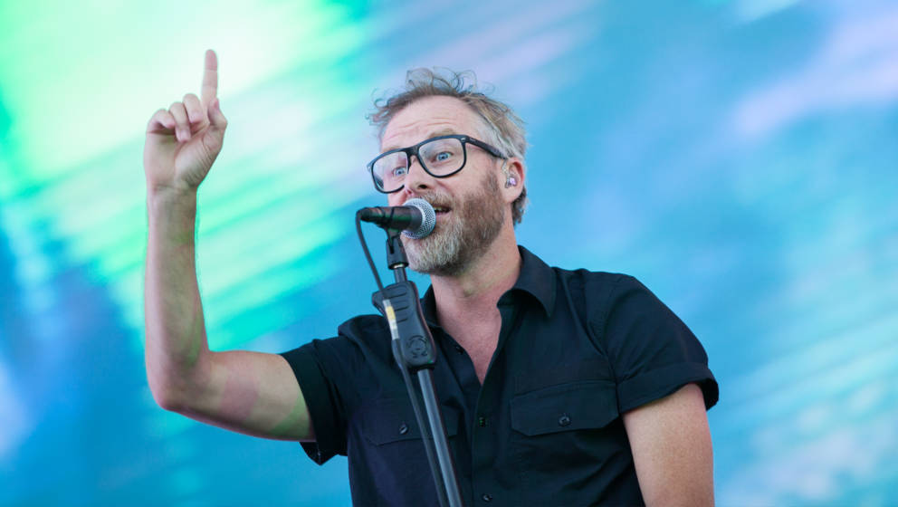 The National am Samstag beim Lollapalooza Berlin