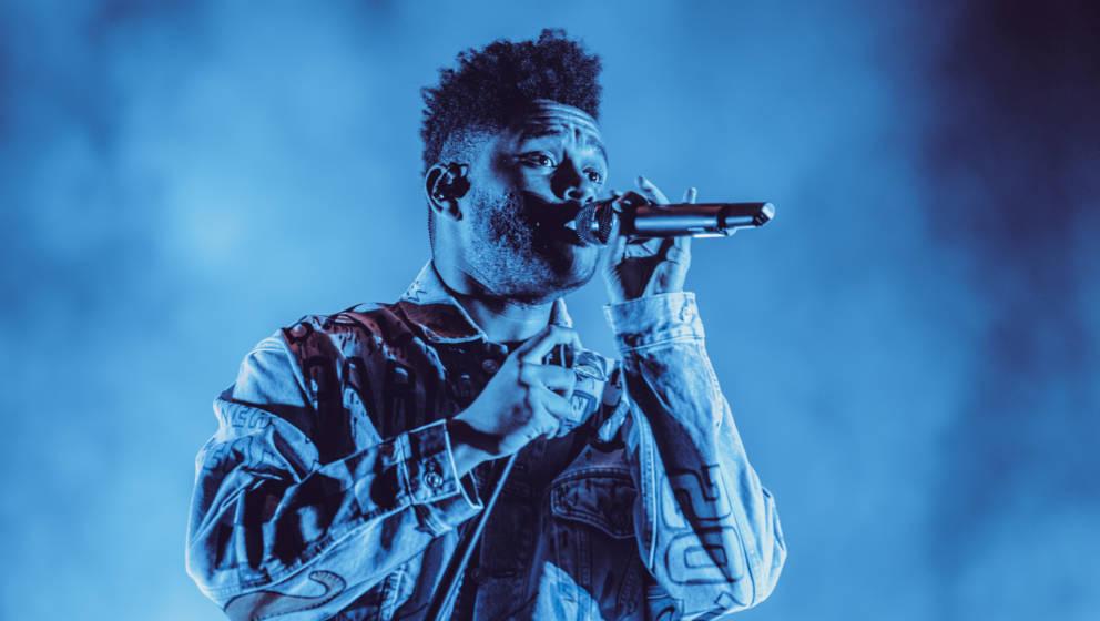 The Weeknd am Samstag beim Lollapalooza Berlin