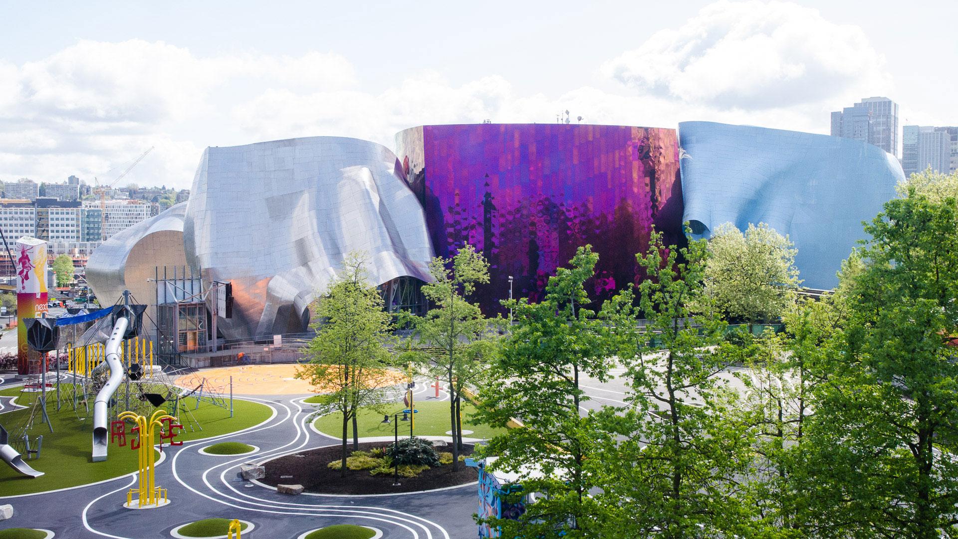 """Das """"Museum of Pop Culture"""" von außen"""