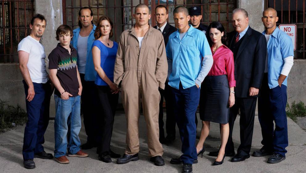 """Der tätowierte Michael versucht in """"Prison Break"""", seinen Bruder aus dem Gefängnis zu befreien. Nun nimmt Netflix die Serie aus dem Programm."""