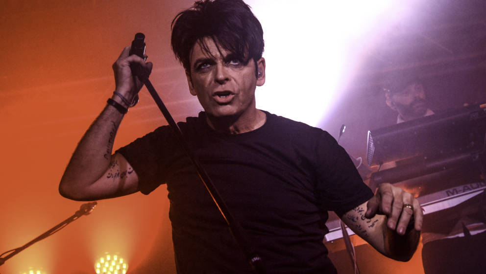 Gary Numan performs at The Foundry, Sheffield University on September 15, 2016 in Sheffield, England.