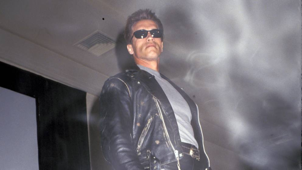 Arnold Schwarzenegger at Creation Convention presents 'Terminator 2: Judgment Day', Los Angeles, CA, 06/30/91. (Photo by Ron