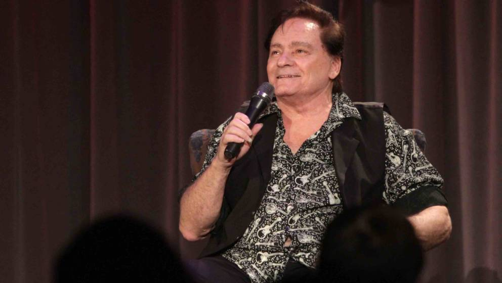 LOS ANGELES, CA - NOVEMBER 17:  Singer/songwriter Marty Balin speaks onstage at An Evening With Marty Balin at The GRAMMY Mus