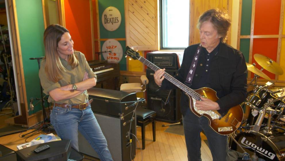 NEW YORK - SEPTEMBER 26: Sharyn Alfonsi'?s interview with Paul McCartney will be broadcast on the 51st  Season Premiere of 60