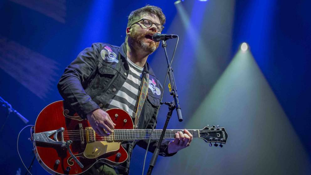 OTTAWA, ON - SEPTEMBER 16:  Colin Meloy of The Decemberists performs at the CityFolk festival at Lansdowne Park on September