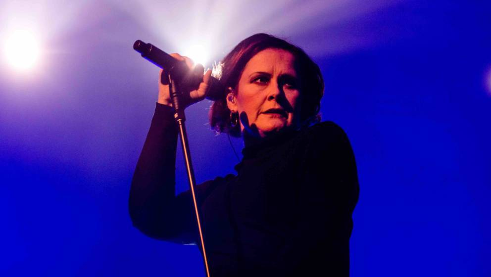 MEDIOLANUM FORUM, MILANO, ITALY - 2017/12/17: English singer Alison Moyet performs live at Fabrique in Milan. (Photo by Mairo