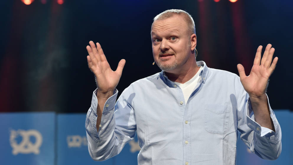 MUNICH, GERMANY - SEPTEMBER 24:  Stefan Konrad Raab during the 'Bits & Pretzels Founders Festival' at ICM Munich on Septe