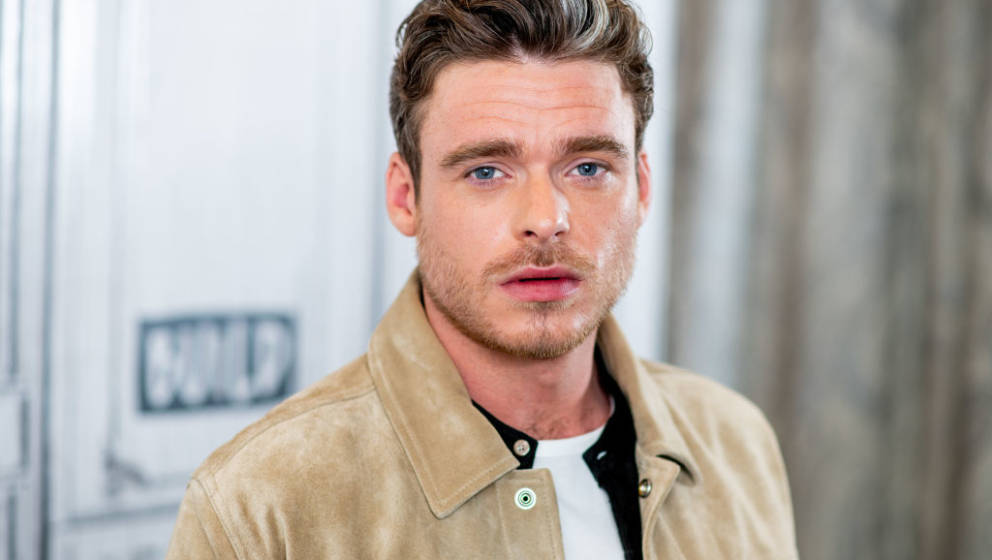 NEW YORK, NY - MAY 22:  Richard Madden discusses 'Ibiza' with the Build Series at Build Studio on May 22, 2018 in New York Ci