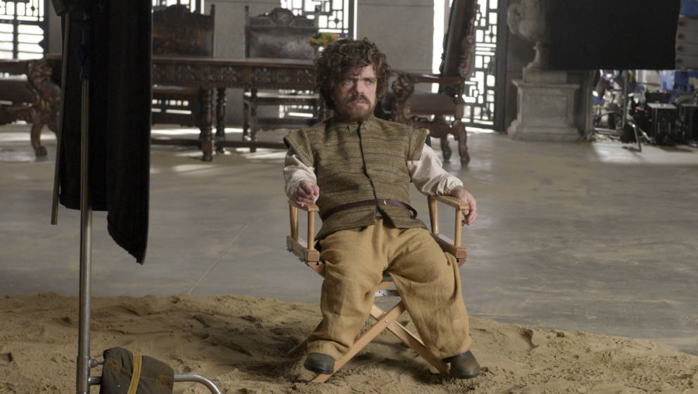 SATURDAY NIGHT LIVE -- 'Peter Dinklage' Episode 1699 -- Pictured: Peter Dinklage during the 'Game of Thrones Sneak Peak' sket