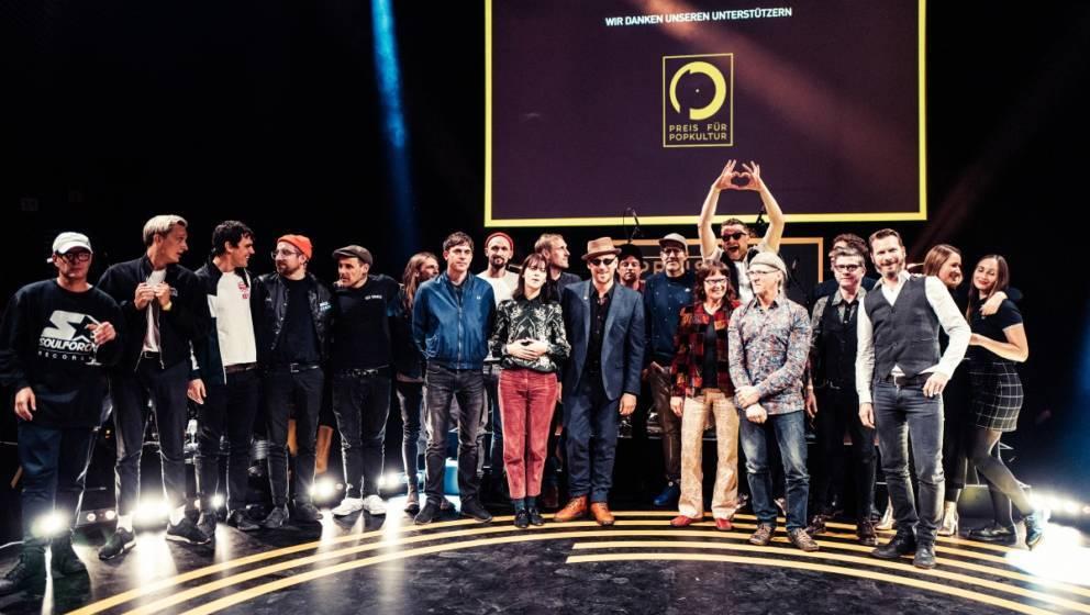Die Preisträger beim Preis für Popkultur