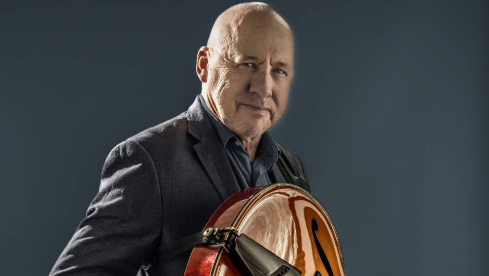 Portraits of British songwriter and guitarist Mark Knopfler for the release of his album 'Down The Road Whatever'.