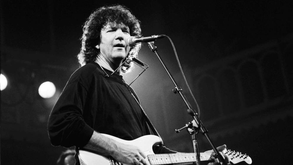 AMSTERDAM, NETHERLANDS - DECEMBER 8: Tony Joe White, vocals and guitar, performs at the Paradiso on December 8th 1991 in Amst