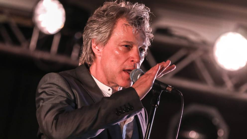 CAP D'ANTIBES, FRANCE - JUNE 19:  Jon Bon Jovi performs at a VIP dinner party hosted by iHeartMedia and MediaLink during the